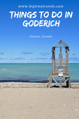 Things to do in Goderich Pin