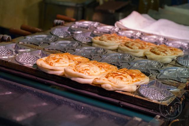 Plan an international trip to Japan: Taiyaki in Osaka Japan