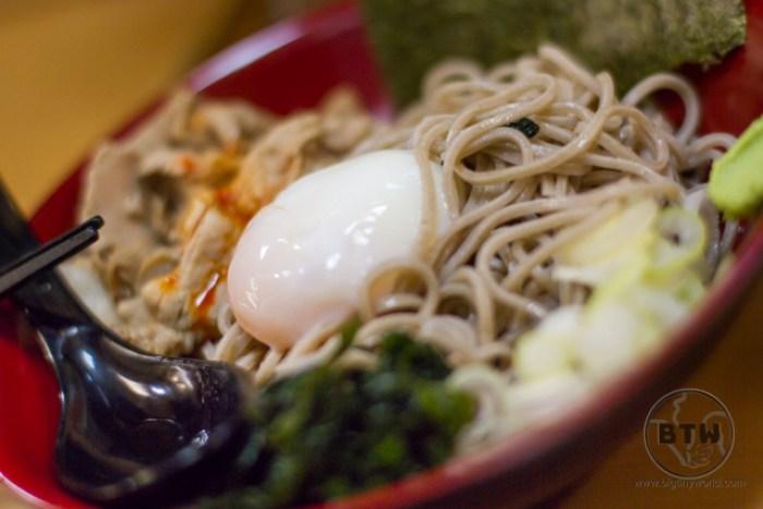 Close-up of a ramen bowl in Tokyo, Japan
