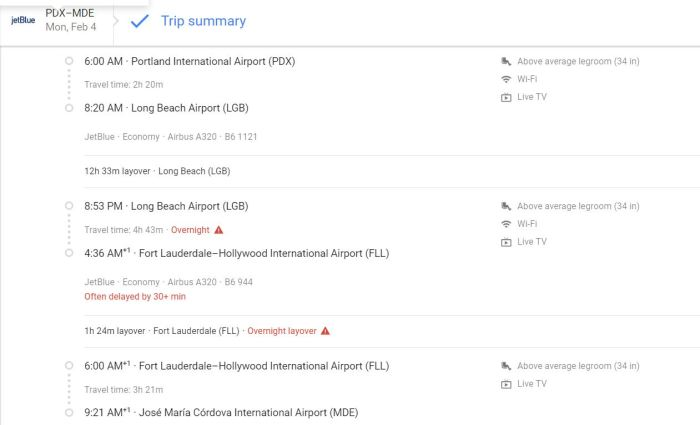 Flight info Medellin google flights