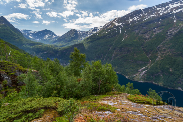 Hike to Views of Geiranger Fjord Norway
