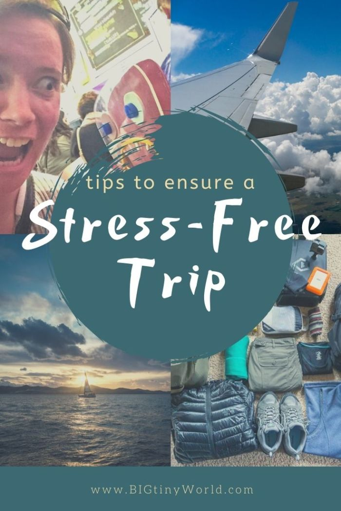 Anxiety before and during travel is quite common, but there are ways to beat it when it does strike. Click through to read our tips and see how we combat travel anxiety! | BIG tiny World Travel | #travelanxiety #travelcouple #tripplanning #travel #traveltips