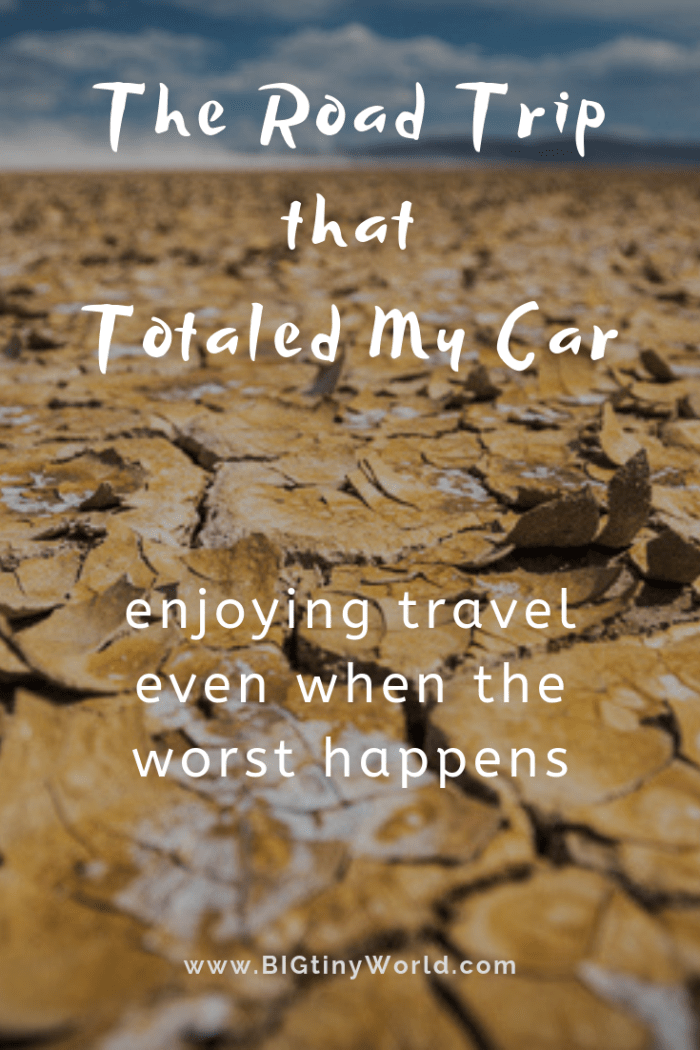 The Road Trip that Totaled my Car - How We Barely Escaped Eastern Oregon | BIG tiny World Travel | When traveling, things inevitably go wrong. What do you do? We took a risk.. in the end, we wound up with memories of an amazing trip and a totaled car. Click through to read the full adventure! | #travelstories #travelcouple #roadtrip #easternoregon #cartrouble #travel