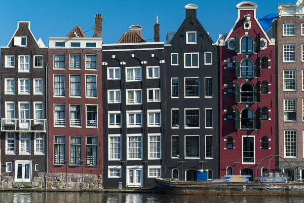 Amsterdam Buildings on Canal