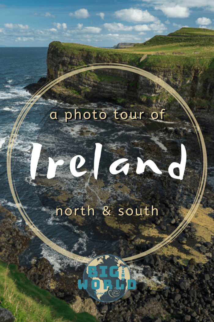 Photos that will make you want to visit Ireland | We visited Ireland and Northern Ireland for the first time and were amazed at all of the beauty and culture.  Here are 27 photos that will make you want to visit Ireland Check it out! | BIG tiny World Travel | #bigtinyworld #NorthernIreland #shadeadventures #27photos #Irelandtravel