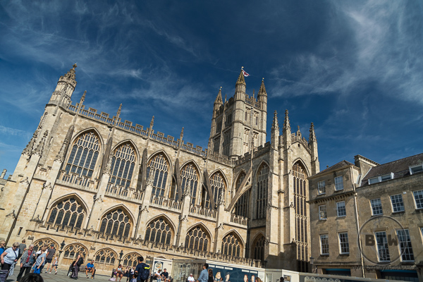 Gothic Bath Abbey