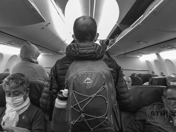 Boarding aircraft coronavirus