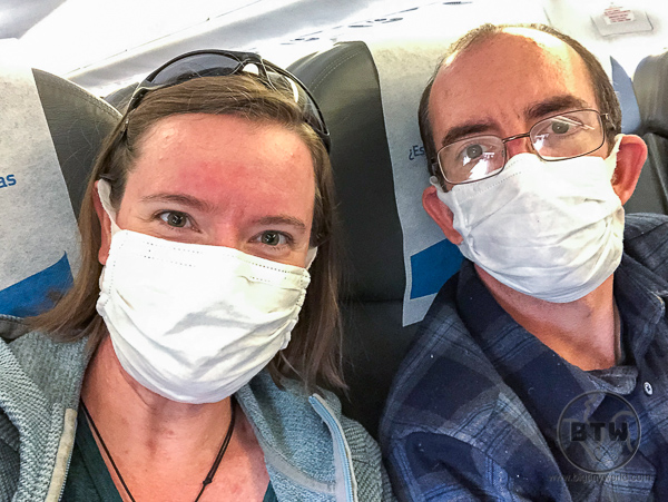 Flying home coronavirus pandemic