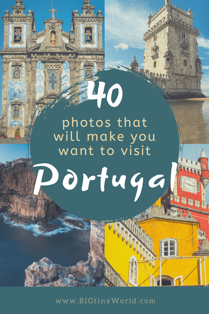 40 Photos That Will Make You Want to Visit Portugal   If Portugal isn't already on your list, these photos will surely give it a place there! Portugal is a beautiful country full of history and culture. From the intriguing hilly cities to the stunning coastline, there's a lot to love.   BIG tiny World   #bigtinyworld #portugal #travelphotography #photos #travel
