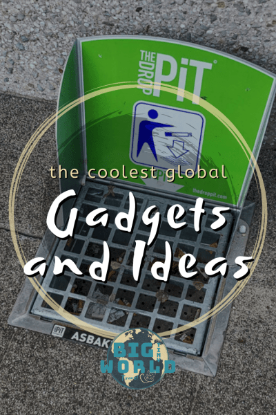 The Coolest Global Gadgets and Ideas | Travel exposes us to unique gadgets and ideas - different ways to solve problems.  From the kitchen to the bathroom, at home and on the road, these are some of our favorites. | BIG tiny World | #bigtinyworld #problemsolving #worldwideideas #cleverideas #worldwidetravel