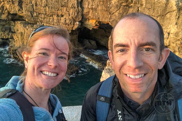 Boca do Inferno Cascais Portugal - Aaron & Brianna Shade