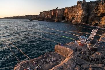 Boca do Inferno Cascais Portugal Fishing lines