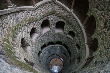 The Imitation Well at Quinta de Regaleira, Sintra, Portugal