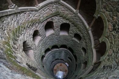 The Imitation Well at Quinta de Regaleira, Sintra, Portugal