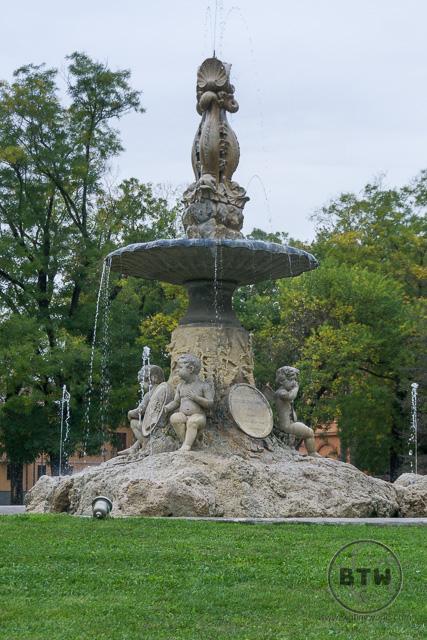 Fountain in Reggio Emilia, Italy