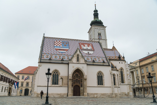 St. Marks Church in Zagreb, Croatia