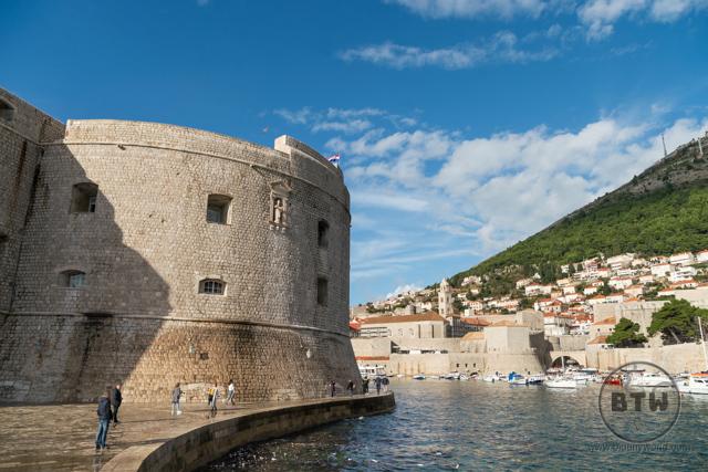 The south bay in Dubrovnik, Croatia
