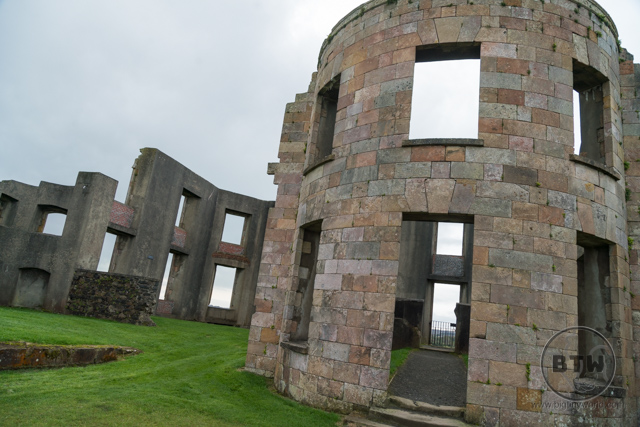 The ruins of the Downhill Demesne in Northern Ireland