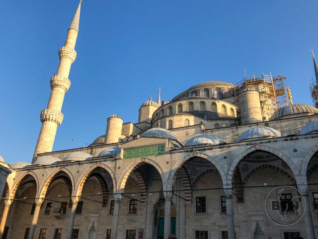 Blue Mosque Exterior Renovations