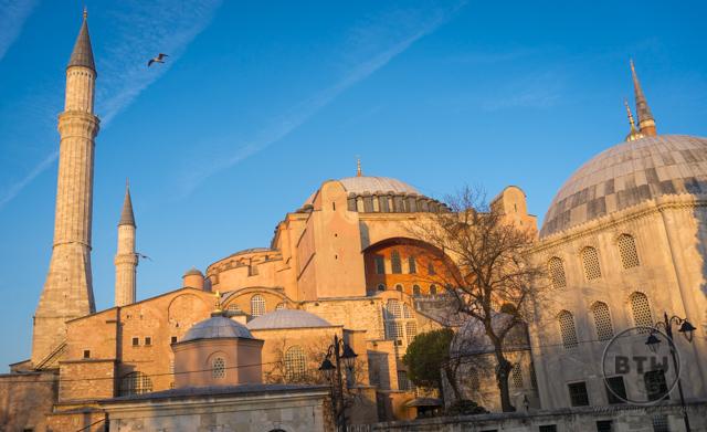 Hagia Sophia at Sunset Istanbul