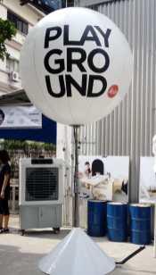 Advertising Lighted Balloon Singapore