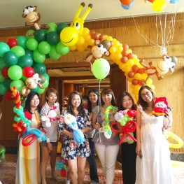 Balloon Sculpting Birthday Party Singapore