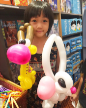Balloon Sculpting by Chin bee