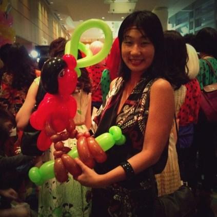 Balloon Sculpting by Kaden Tan