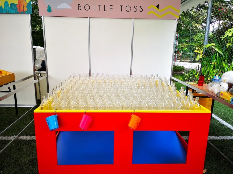 Bottle Ring Toss Fun Fair Game Rental