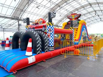 Car Inflatable Obstacle Course Challenge Rental Singapore