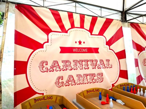 Carnival Banner Display Rental