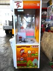 Customised Branding on Claw Machine