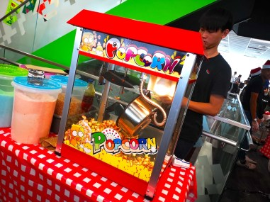 Flavored Popcorn Machine Rental