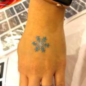 Glitter Tattoo Art