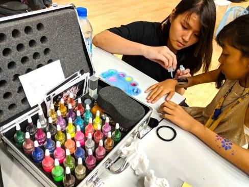 Glitter Tattoo Fringe Activity