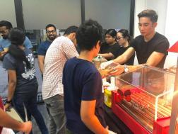 Grill Hotdog Live Station