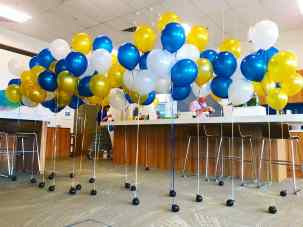 Helium Balloon Decorations for Intel Singapore