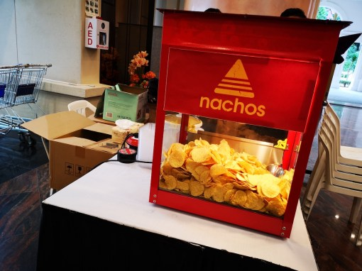Live Nachos Food Station