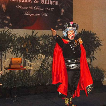 Mask Changing Show for Hire Singapore
