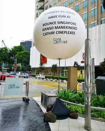 Outdoor Tripod Balloon Rental
