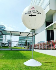 Outdoor balloon signage Singapore