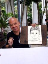 Professional Caricature Artist Welles
