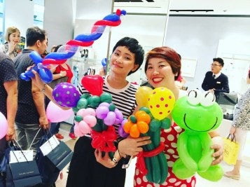 Profsssional Balloon Sculpting Service in Singapore