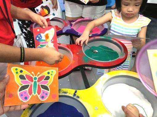 Sand Art Fringe Activity Singapore