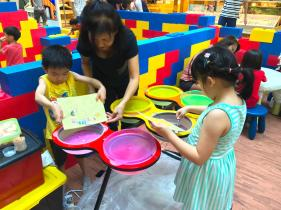 Sand Art Station for Kids Playgroud