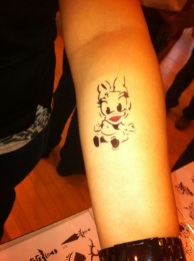 Singapore Airbrush Tattoo