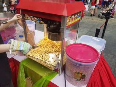 Singapore Pop Corn Machine Rental
