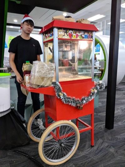 Singapore Popcorn Cart Rental