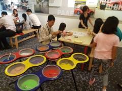 Singapore Sand Art Activity
