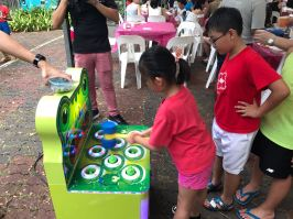 Singapore Whack a frog machine rental